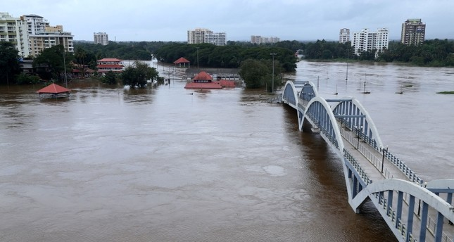 Death toll in floods hitting India's Kerala hits 164, hundreds of thousands displaced