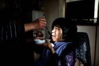 Kanemasa Ito compares caring for his wife Kimiko to waging a daily war with the devil. The woman he loved has all but disappeared - lost to dementia, she can no longer eat, bathe or go to the...