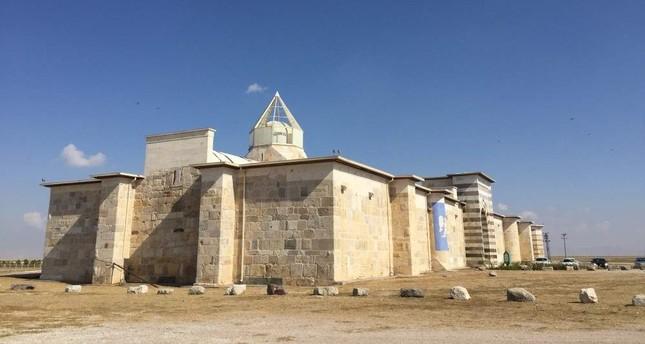 Zazadin Han is the greatest Seljuk caravanserai in Konya. (AA Photo)