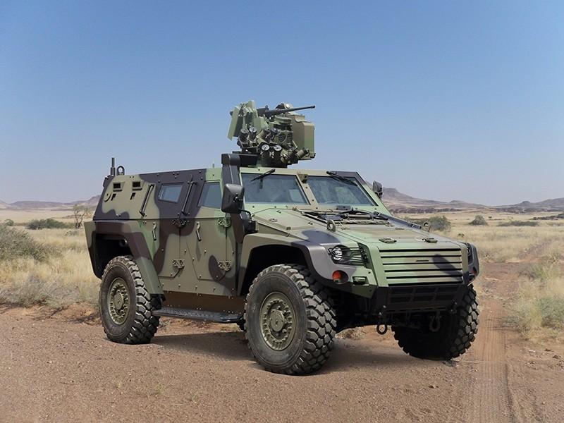 Otokar's Cobra II armored vehicle (Sabah File Photo)