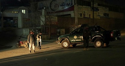 pAt least two of the four militants who stormed the Intercontinental Hotel in Kabul on Saturday night have been killed nearly three hours after the attack was launched, an official...