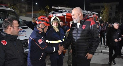 Turkey's aid will never be forgotten, Albanian PM says