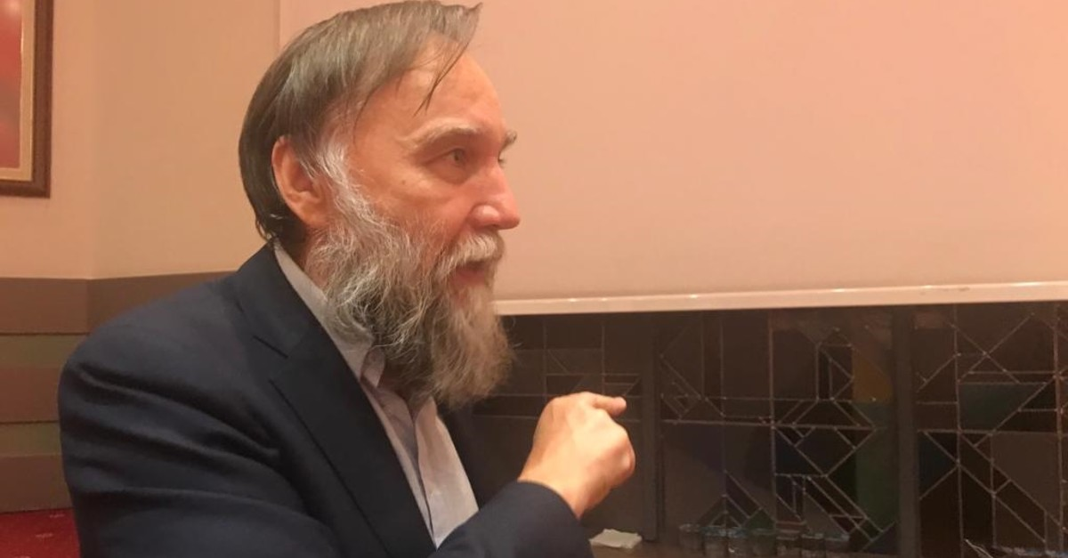 Russian political scientist Alexander Dugin, speaking to Daily Sabah