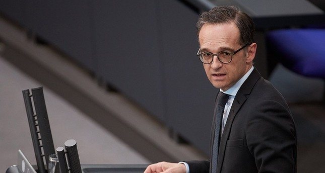 German Foreign Minister Heiko Maas speaks during a session of the German parliament 'Bundestag' in Berlin, Germany (EPA Photo)