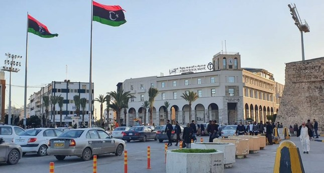 A view of Martyr's Square in the Libyan capital Tripoli, Jan. 20, 2020. AFP Photo