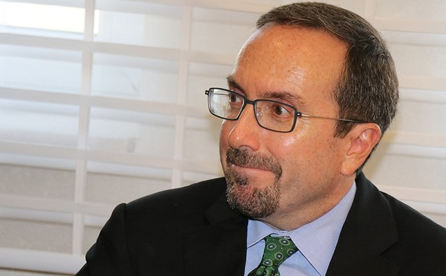 "U.S. Ambassador John Bass has been criticized for ban on Hilal Kaplan. Bass reportedly called Sabah's story on an alleged FETÖ-linked employee of the U.S. consulate in Istanbul ""fictitious."" (IHA Photo)"