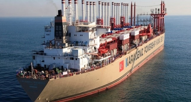 سفينة توليد كهرباء تركية تبدأ العمل في السودان