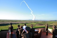 North Korean leader Kim Jong Un has supervised the test of a new anti-aircraft weapon system and ordered its mass production and deployment throughout the country, the state news agency reported on...