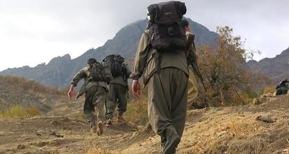5 إرهابيين من بي كا كا يسلمون أنفسهم للأمن التركي
