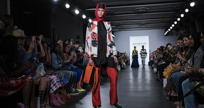 pThe hijab and abaya dazzled center stage on the New York runway Thursday as up-and-coming Indonesian designers kicked off an increasingly diverse fashion week, hoping to change prejudices in the...