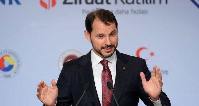 ألبيرق: البنك المركزي التركي مستقل وسيتخذ الإجراءات اللازمة
