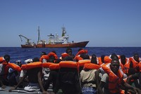 Second aid group suspends Mediterranean migrant rescues amid Libyan threats