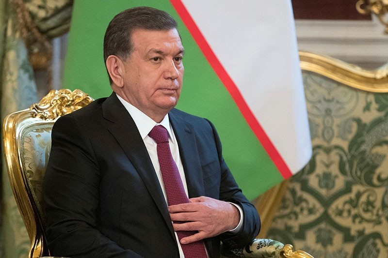 Uzbekistan's President Shavkat Mirziyoyev offered to help U.S. authorities in the investigation of the terror attack in New York, whose suspect is an Uzbek national. (Reuters Photo)