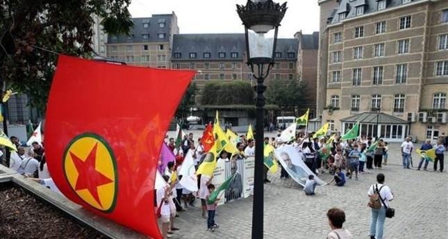 أنصار بي كا كا يحتفلون في بروكسل بذكرى أول عملية إرهابية في 1985