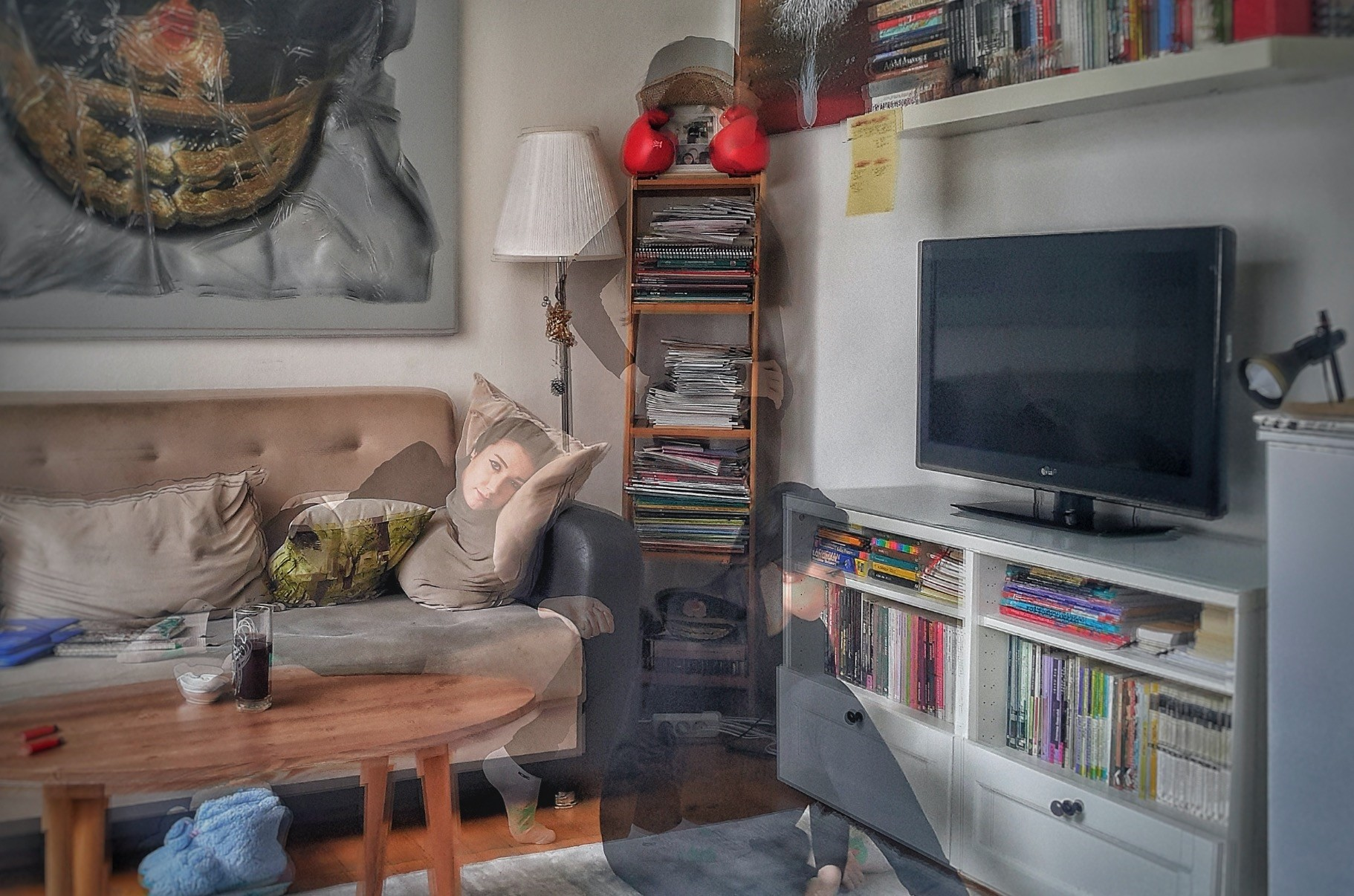 In u201cThe Fourth Wall,u201d Ebru Sargu0131n live streams from her house and turns the relationship between the viewer, who is in the act of seeing, and the artist being gazed upon, upside down.