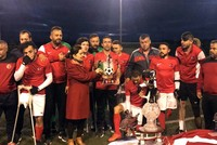 Turkey national amputee football team wins Fano Cup