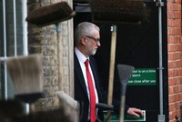 Labour leader Corbyn apologizes for election defeat