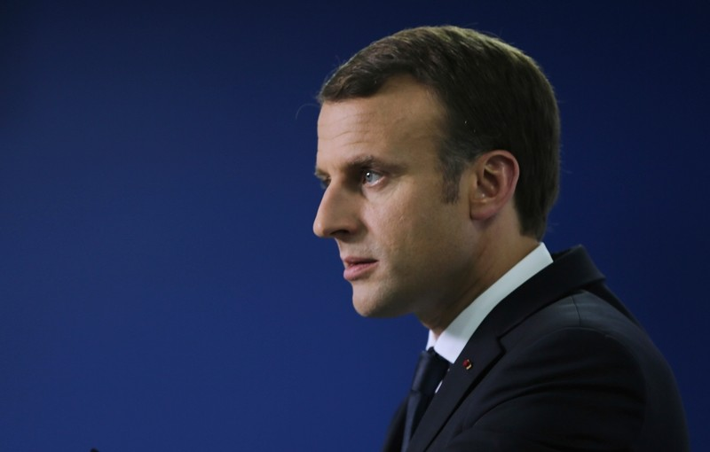French President Emmanuel Macron ( AP Photo)