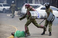 Opposition protester Ben Ngari beaten to death by Kenya's paramilitary police