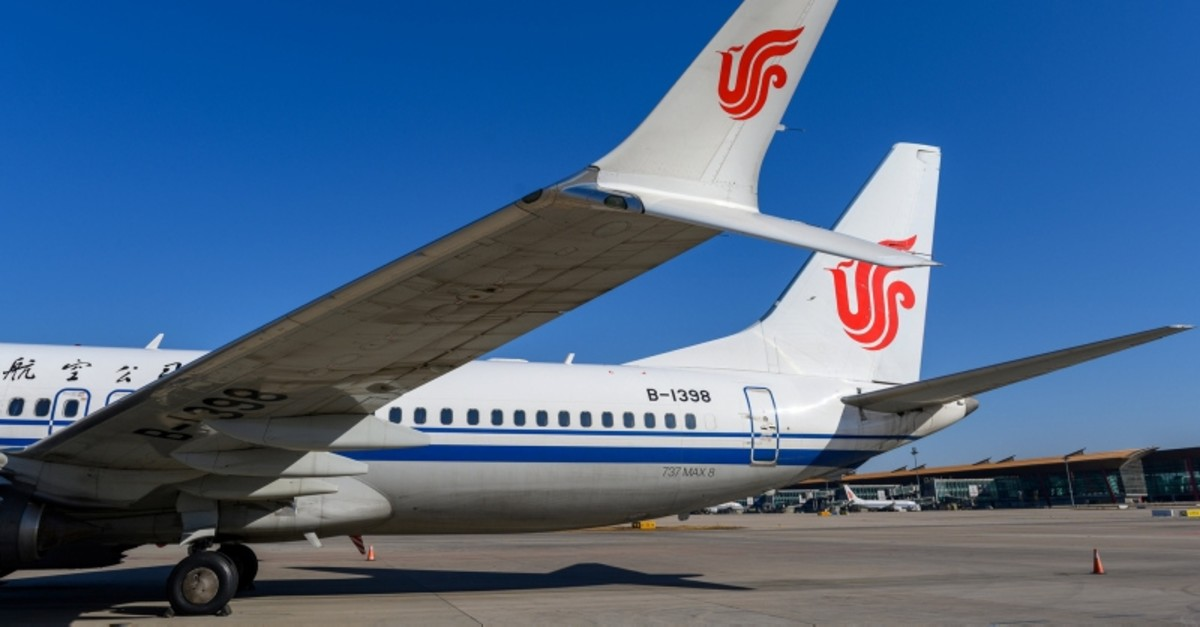 A Boeing 737 MAX 8 aircraft of Air China sits on the tarmac at an airport in Beijing, China March 11, 2019. (Reuters Photo)