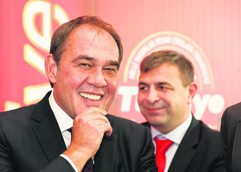Turkish Football Federation chairman Yu0131ldu0131ru0131m Demiru00f6ren