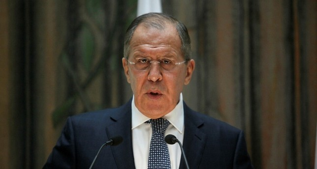Russian FM Sergei Lavrov (Reuters Photo)