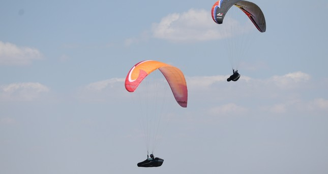 For long flights, paragliders look to Mt. Ali