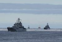 Россия проводит военные учения в Балтийском море