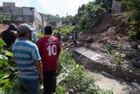 Six killed after landslide hits house in Mexico