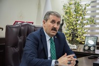 Great Unity Party Chair Mustafa Destici: People's Alliance aiming for over 60 pct votes, not just simple majority