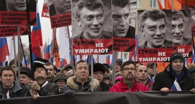 مظاهرة للمعارضة الروسية- 2015