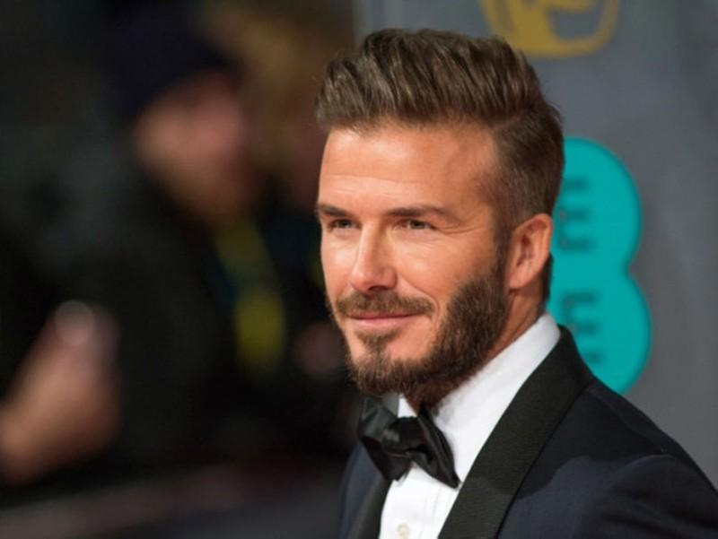 Former England captain David Beckham. (FILE Photo)