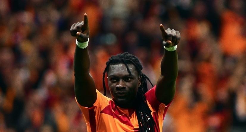 Galatasaray star Bafu00e9timbi Gomis