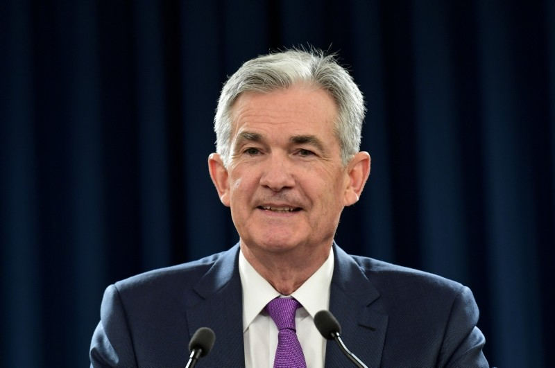 In this Sept. 26, 2018, photo, Federal Reserve Chairman Jerome Powell speaks during a news conference in Washington. (AP Photo)