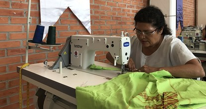 pThe Turkish Cooperation and Coordination Agency (TIKA) opened a needlecraft workshop Wednesday in Mexico City's Iztapalapa suburb within the framework of the Programa Soldaderas-Strong Women,...