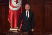 Kais Saied sworn in as Tunisia's new president
