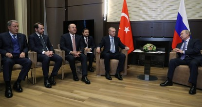 'Turkey has no intention to be at odds with Russia'