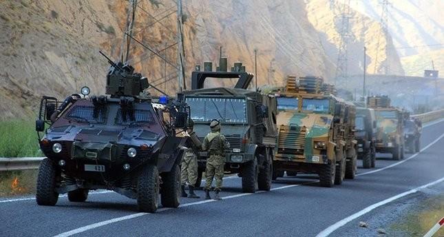 استشهاد جندي وحارس قرى في هجوم إرهابي شنه بي كا كا شرقي تركيا