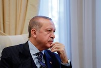 Greek side must accept Turkish Cypriots as joint owners, not minority, Erdoğan says