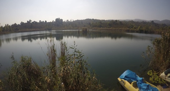 بحيرة غاغا Gaga في منطقة فاطسا، ولاية أوردو حيث عثر على الكنيسة DHA