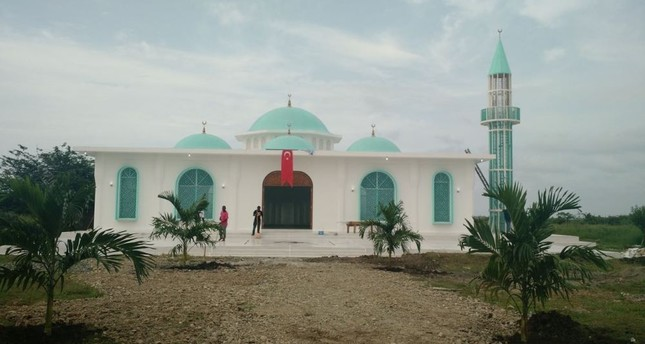 Haiti's first mosque with minaret opens