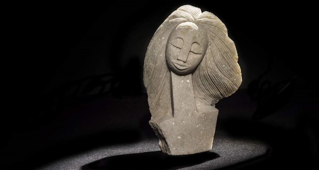 Spirits in Stones features a total of 42 sculptures made of precious and hard-to-process stones.