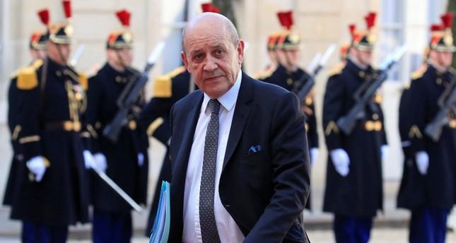 وزير الخارجية الفرنسي جان إيف لودريان (رويترز)