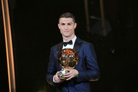 Cristiano Ronaldo wins 5th Ballon d'Or award as best player in fifth time
