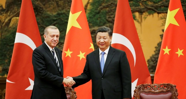 President Recep Tayyip Erdoğan and Chinese President Xi Jinping attend a signing ceremony ahead of the Belt and Road Forum in Beijing, China May 13.