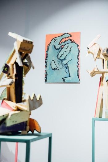 Başak Cansu Güvenkaya's work at Mamut Art Project.