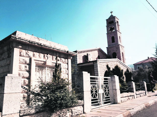 The mausoleum of Ameen Rihani is one of three sites dedicated to him in his native region of Matn.