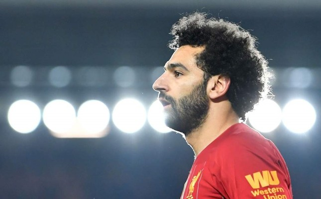 Mohamed Salah playing during the match against Wolverhampton Wanderers in Liverpool, Dec. 29, 2019. AFP Photo