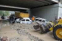 Turkey's capital Ankara hit by unexpected flood, 6 slightly injured