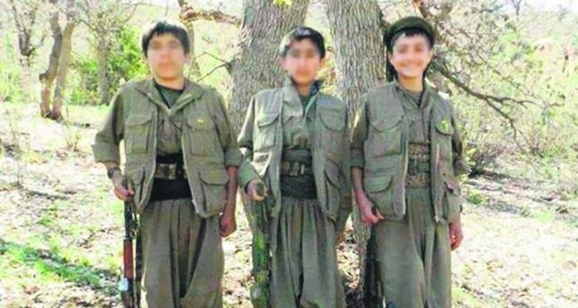The Ezidi children who fled from Daesh were forcibly recruited by PKK and were taken to the terror group's headquarters in Iraq's Qandil. (File Photo)